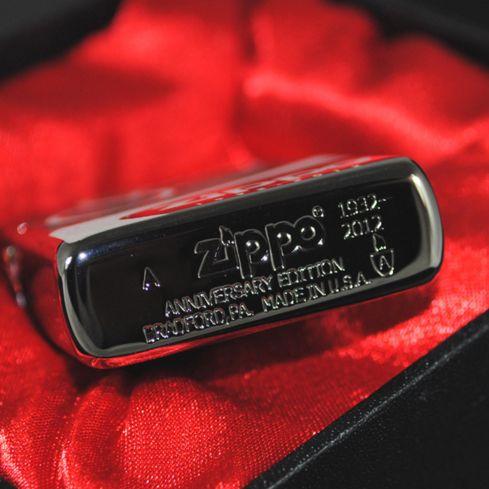 Zippo Armor Black ice 80th Anniversary Limited Edition Lighter