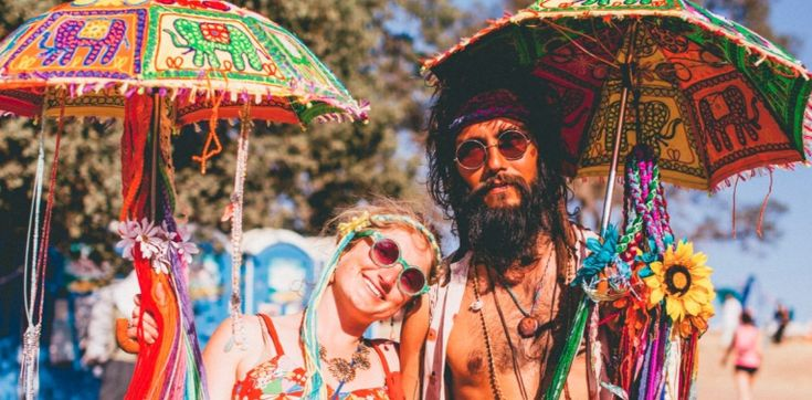 Gay satanic hippie