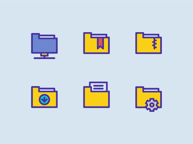 Folders Icons by Sooodesign