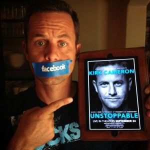 "Facebook Blocks Kirk Cameron's New Movie - Christian actor Kirk Cameron said Facebook has blocked fans from posting any links to ""Unstoppable,"" an upcoming faith-based movie, because the website is abusive and unsafe. The film was made in partnership with Liberty University, the self-proclaimed largest Christian university in the world."