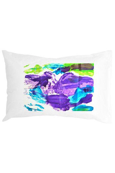 Custom art pillowcases. Now available @ www.charlieandrosie.com.au