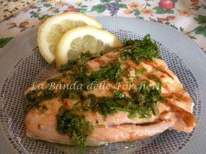 Salmone marinato al limone e capperi - Ricetta light