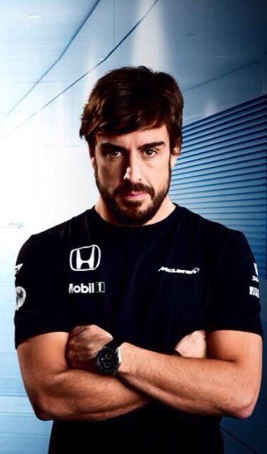 Fernando Alonso McLaren Honda 2015