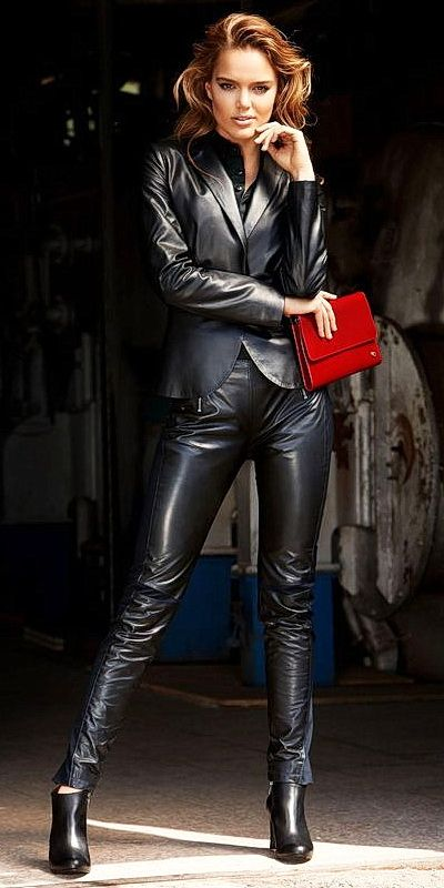 17 Best Images About Iconic Black Leather On Pinterest