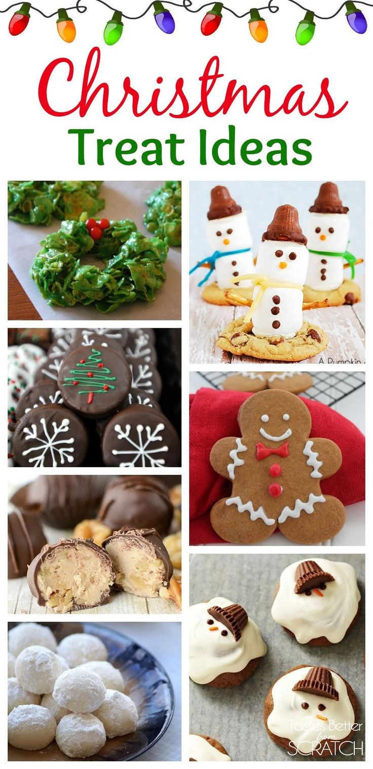 Christmas Treats Roundup - Tastes Better From Scratch