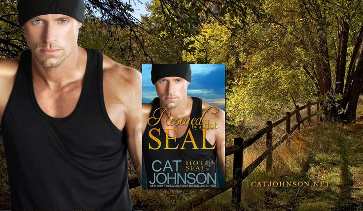 Rescued by a Hot SEAL (eBook/Print) #HotSEALs series by New York Times Best selling author Cat Johnson  TAGS: military romance, contemporary romance, #ReadRomance , Hot SEAL Team, Red Hot SEALs, Navy SEAL Romance, Las Vegas, Men in Uniform, Book series like Lynn Raye Harris, Susan Stoker, Dale Meyer, Caitlyn O'Leary, Cristin Harber, Paige Tyler. A USA Today Bestselling series