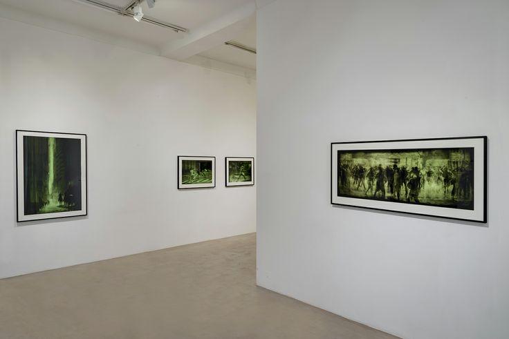 Installation view, Hugo Aveta, Ritmos primarios, la subversiòn del alma, NextLevel Galerie, 2014, Photo: F. Kleinefenn