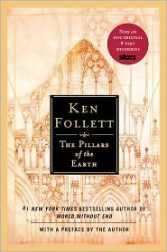 The Pillars of the Earth by Ken Follet. One of the best historical novels I've read. Wonderful characters! It's a long one but I flew through it with lots of late night reading.