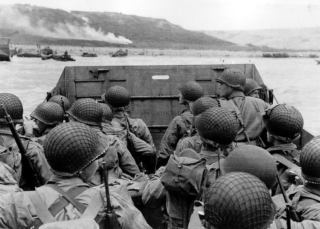 D-Day: Approaching Omaha Beach