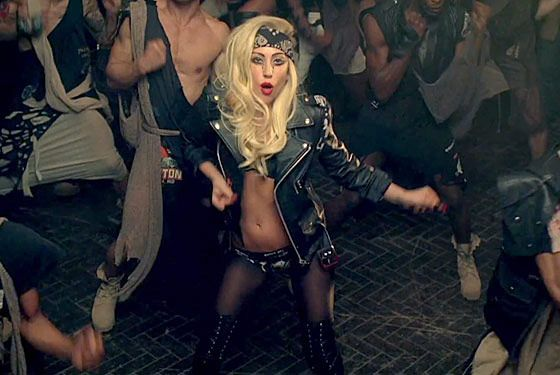 "lady gaga judas black jacket | Get the Look: ""Judas"" Music Video 