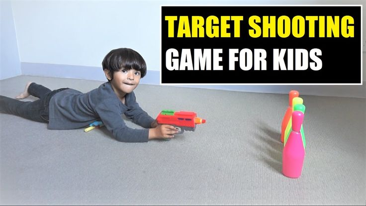 Target Shooting Game for Kids  Play with Target Shooting Gun....  Playing the Target Shooting game will help improve concentration of kids and it is quite entertaining too. It can keep kids occupied for hours, especially during the holidays, weekends and rainy, snowy days. Shooting a target without missing needs a high level of concentration.     #ArhamPlayTime
