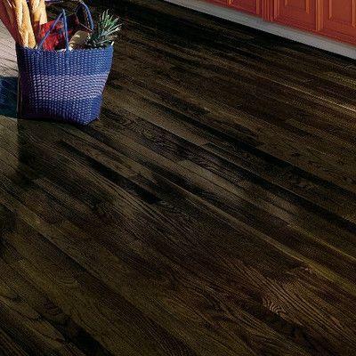 "Bruce Flooring Dundee 2-1/4"" Solid Red Oak Hardwood Flooring in Espresso"