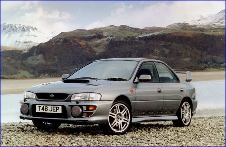 Something for the weekend sir? The last car I bought was my Ltd Edn Subaru Impreza RB5.