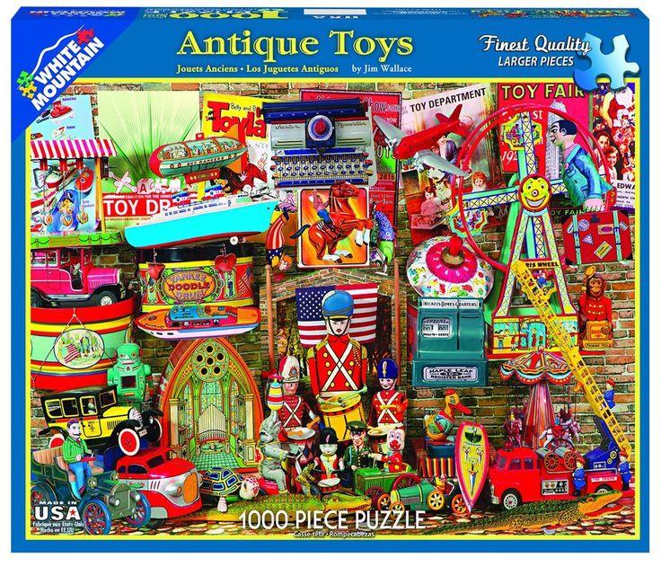 ANTIQUE TOYS - 1000 Piece Jigsaw Puzzle