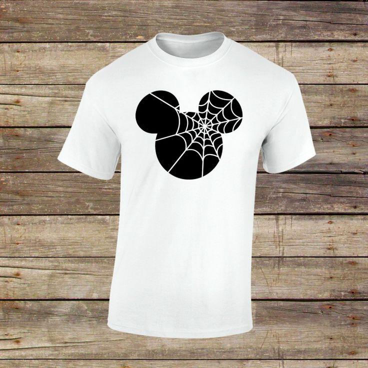 Mickey Spider Halloween Shirt