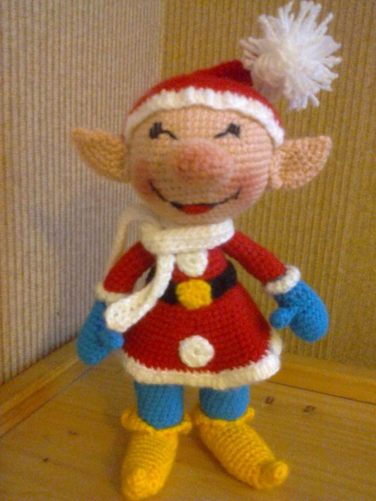 Мое хобби. Рождественский Эльф Улыбашка от Елены Зибровой(Gute Angel)