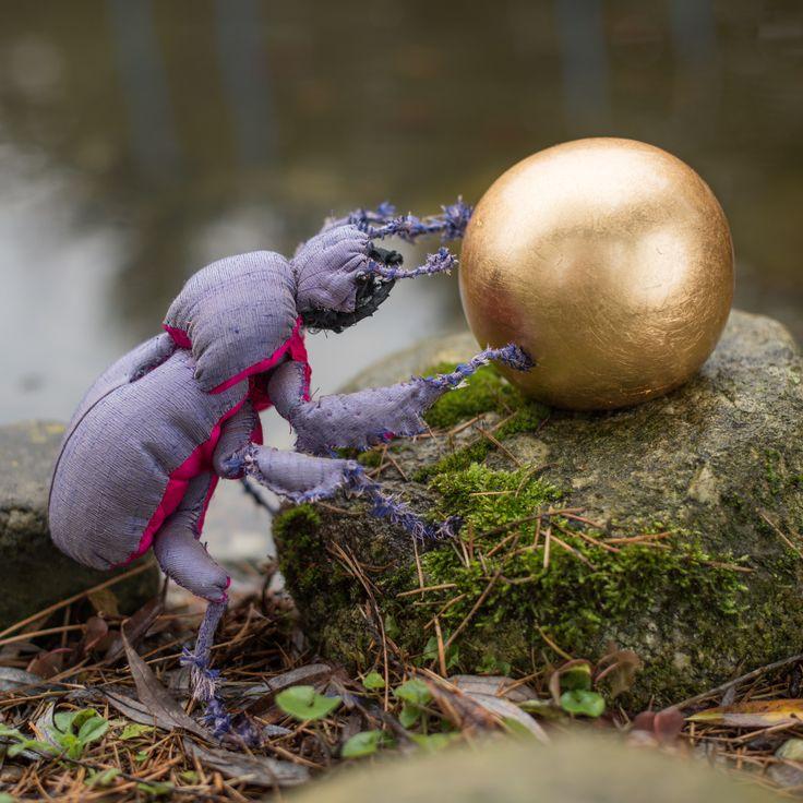 Mr. Beetle by LapinoHandmade Photo: https://www.facebook.com/Fotoadamix-Fotograf-879811222043327/?fref=ts