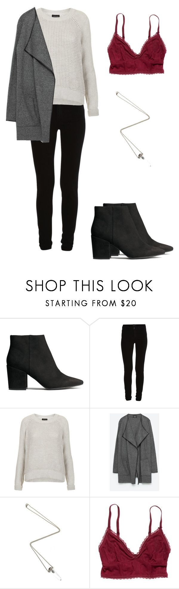 """""""Allison Argent"""" by zoegeorgiou2001 on Polyvore featuring H&M, Vila Milano, Topshop, ASOS and American Eagle Outfitters"""