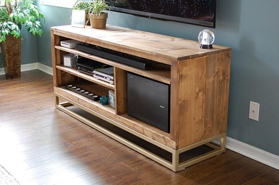 Media Console, Living Room Furniture, Wood Furniture, Mid Century Modern Style Furniture, Modern TV Console Table