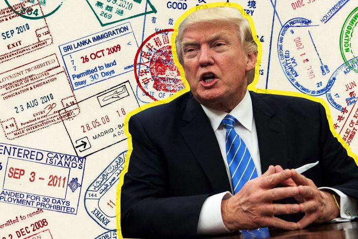 Trump's own businesses, which rely on immigrant labor, won't be affected by the visa restrictions proposed in a new draft executive order.