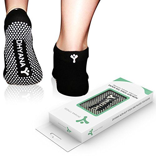 Luxury Yoga Toe Socks For Women By Dhyana - S/M Size - Bonus Videos, 2015 Amazon Top Rated Clothing #Sports