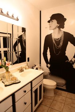 coco chanel inspired room ideas | Coco Chanel Inspired Bathroom by Sarah F. Gordon, Professional ...