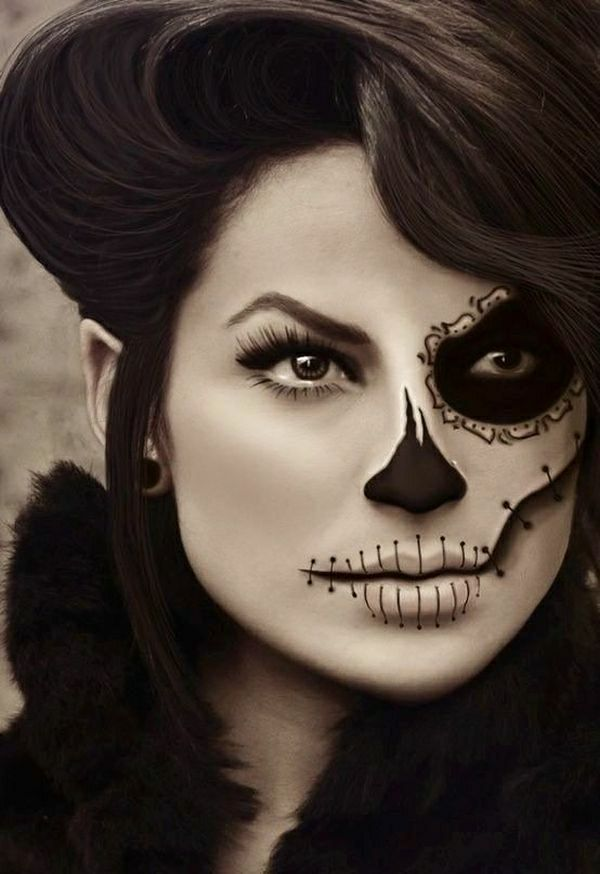 blanc-et-noir-Halloween