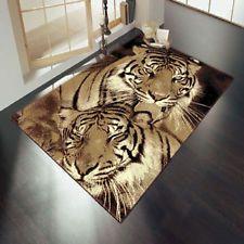 Zebra Print Safari Vinyl Wildlife Twin Tigers Animal Print Rugs Safari Black Jungle Zoo