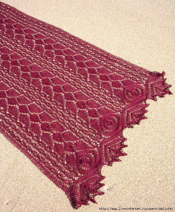 Rose Lace Knitting Pattern Free : ??????? ??????? ?????? ? ??????? ??????? ??????? ...