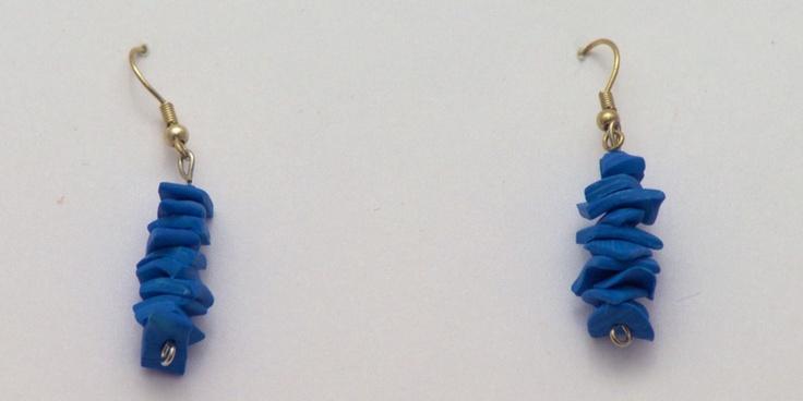 Turm Ohrringe aus Fimo  #Anleitungen #Fimo #free pattern