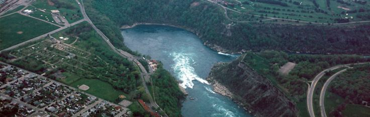 You can find Niagara Whirlpool just 5 kilometers away from Niagara Falls. #niagara #falls #tours