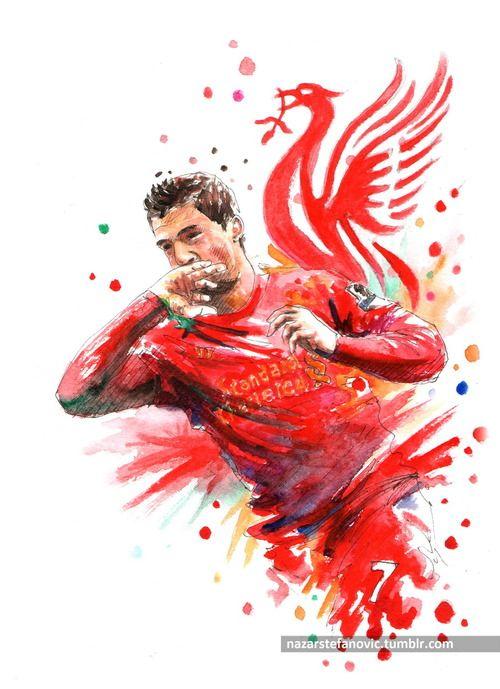 Luiz Alberto Suarez Diaz. Liverpool FC.