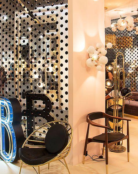 Atomic Retro Sphere Wall Lamp | DelightFULL  | bocadolobo.com | #partnerbrand #furniture #luxuryfurniture