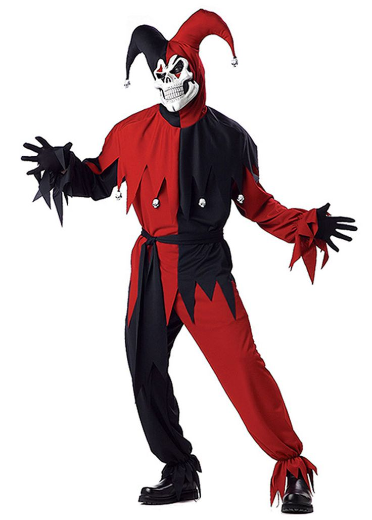 Red And Black Jester