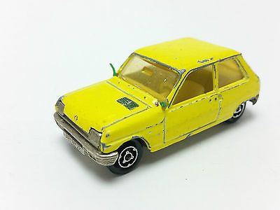 Majorette #257 yellow #renault 5 1:55 scale #diecast model car made in #france, View more on the LINK: http://www.zeppy.io/product/gb/2/262311449677/