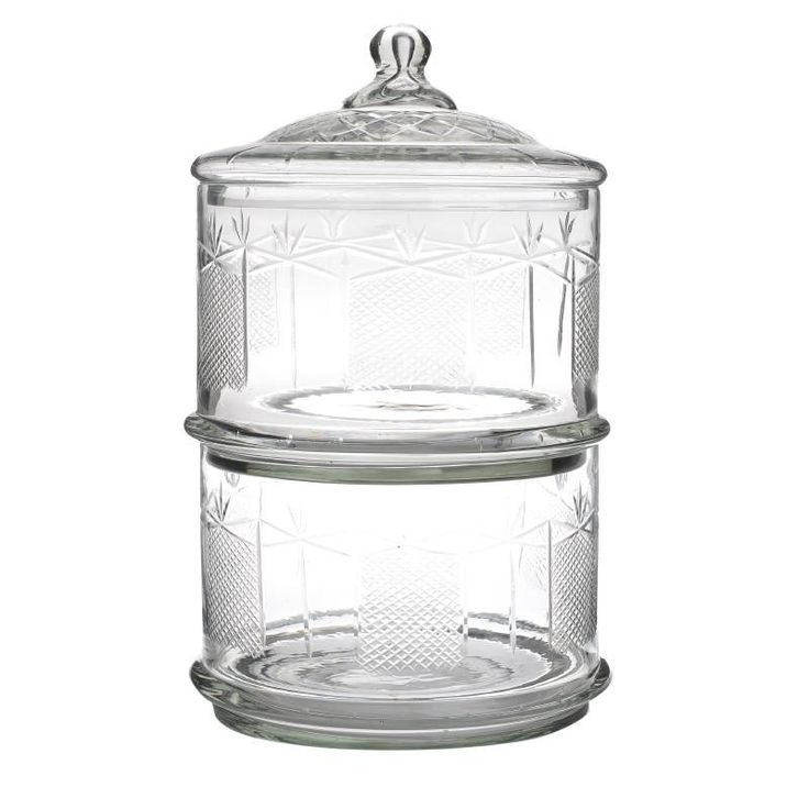 Vase With Lid - inart