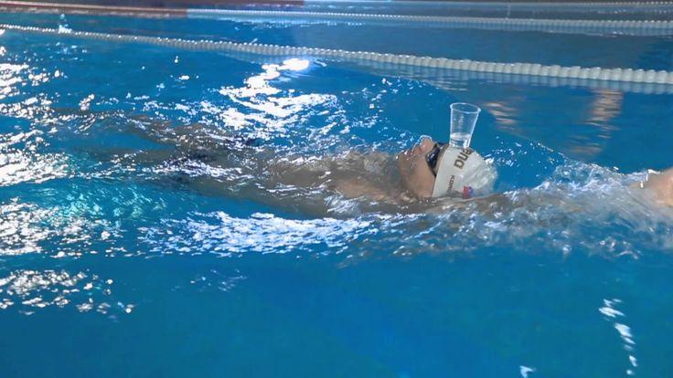 Техника плавания кролем на спине | Школа плавания Евгения Коротышкина #6