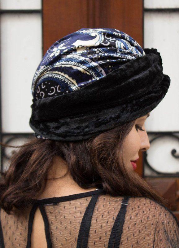 turbante de veludo, turbante de veludo comprar, turbante vintage, turbante retro, turbante fechado comprar, turbante câncer, acessorio de veludo, touca de veludo, touca inverno comprar - G. Offer