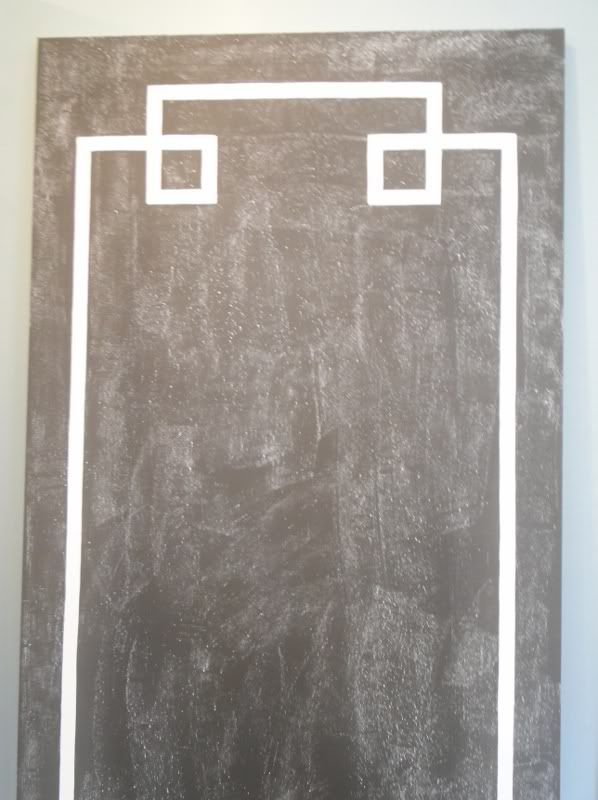 This Is A Hollow Core Door Bought From Lowes Or Home Depot That Has Been Painted With Chalk