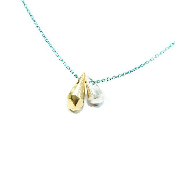 teardrops / turkusowy łańcuszek #3 w Filimoniuk Design na DaWanda.com