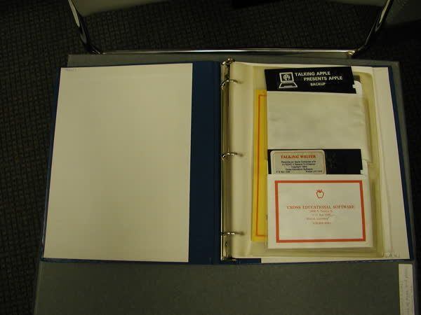 What was assistive tech like about 30 years ago? Here is this Throwback Thursday object, the Talking Apple Literacy Kit from APH; it taught you how to use an Apple IIE computer. http://qoo.ly/fiaek