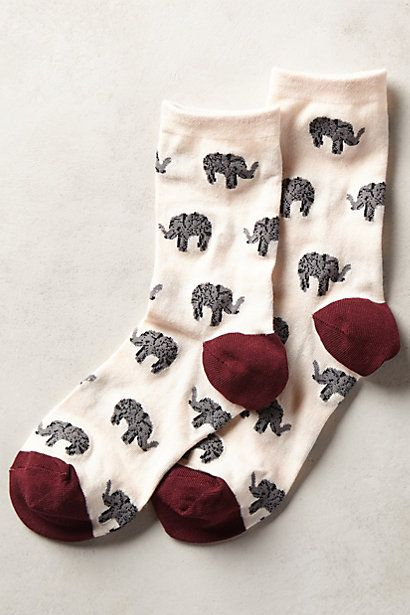 Fine Print Socks #anthropologie