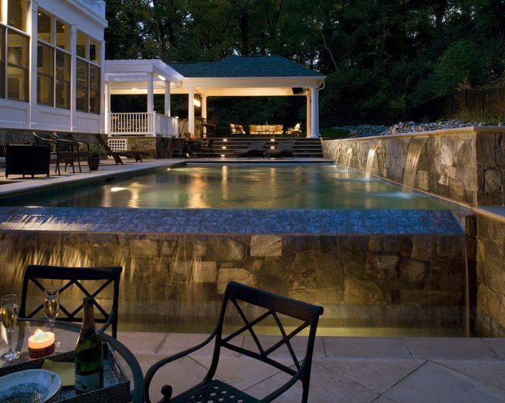 16 Best Custom Inground Pool Designs Images On Pinterest