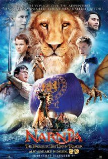 The Chronicles of Narnia: The Voyage of the Dawn Treader  Wow i still haven't watched any of the others besides the first...