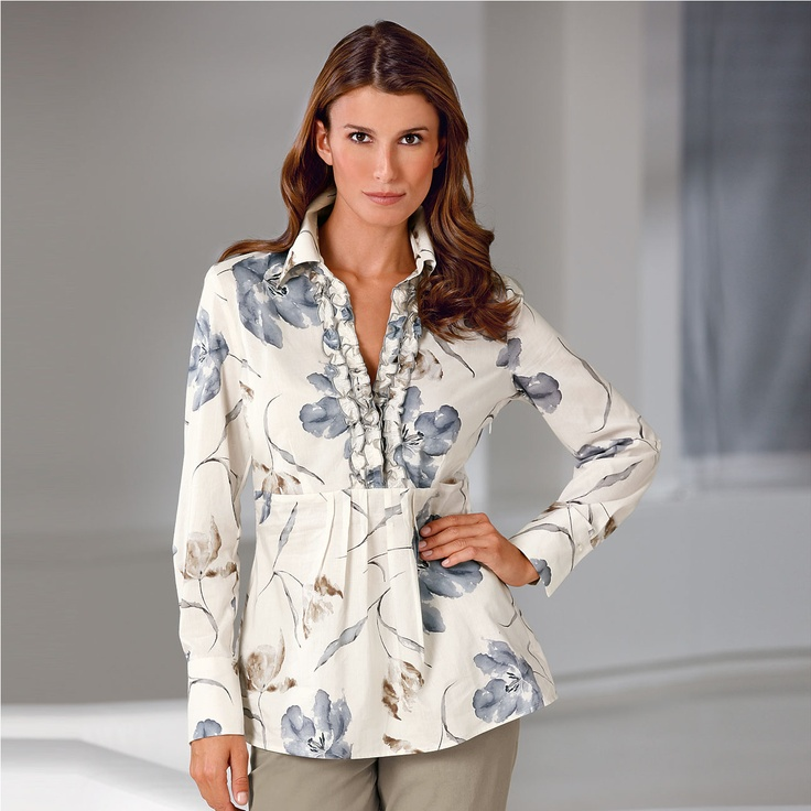 """Tana Lawn """"Sophie Alice"""" Tunic Liberty™ fabrics: Famous for beautiful patterns for over 130 years."""