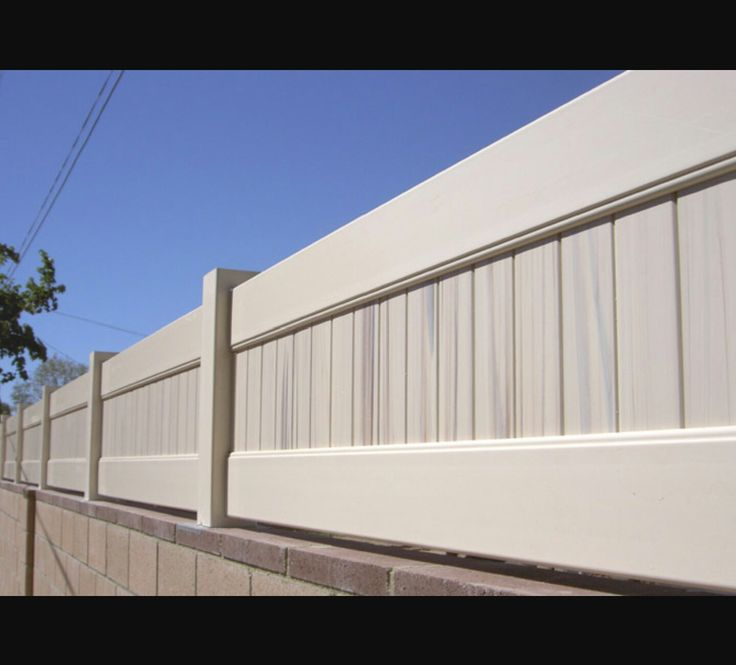 Block Wall Fence Toppers Block Wall Amp Fence Patio