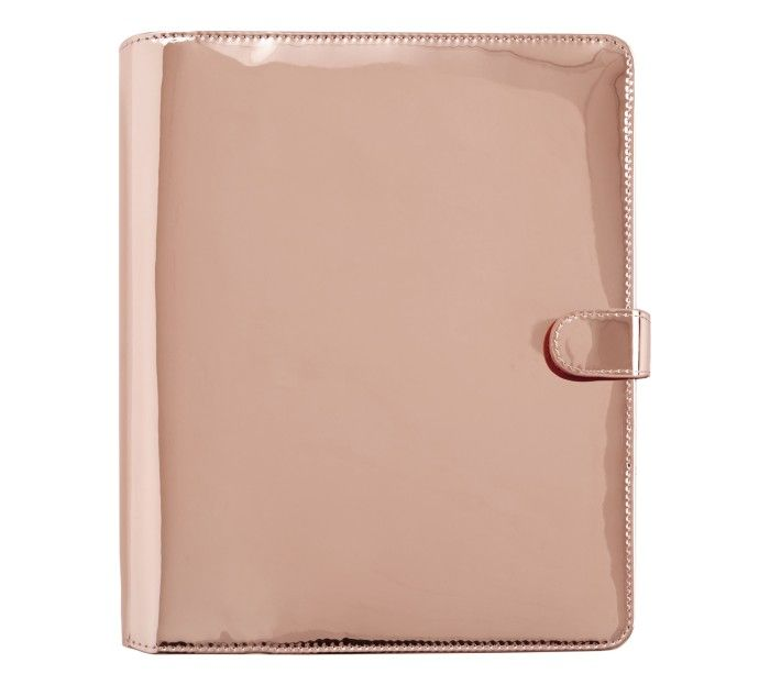 Plan and organise your days beautifully with this gorgeous Copper Mirrored Planner.