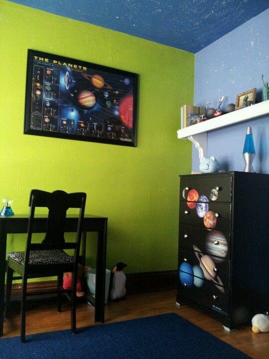 Solar System Bedroom Decor Elijah Room In 2018 Pinterest And
