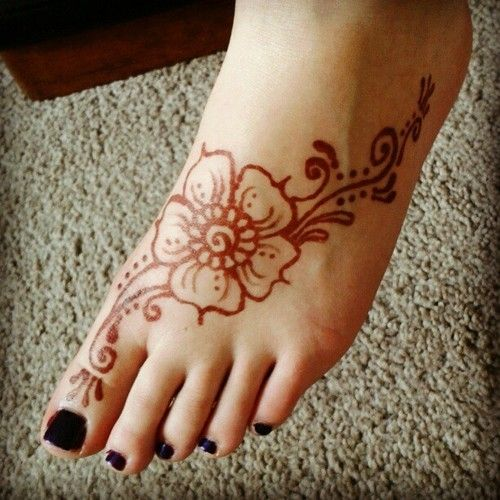 Henna Foot Design Body Art Pinterest Henna Henna Designs And