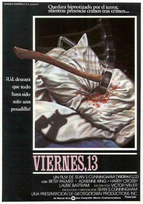 El señor de los bloguiños: Viernes 13 (1980) de Sean S. Cunningham